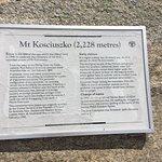 Description of Mt Kosciuszko