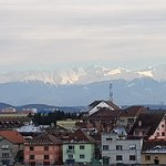 View from the balcony of Fagaras Mountains