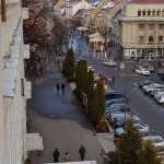 View of pedestrian zone from balcony