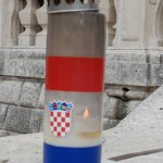 Church of Saint Blaise,outdoor candle.