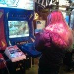 zone de jeux d'arcades