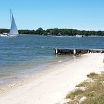 Watch Sailboats from Sandaway Beach