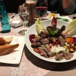 Wintersalat mit Rinderfilet