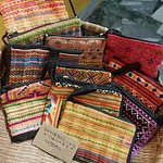 handmade pouch from Indochina