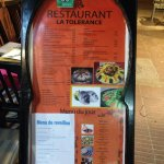 Photo de Restaurant La Tolerance