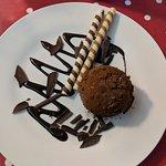 Tartufo Classico scrumptious cocoa & crushed caramelized hazelnut dessert