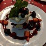 Mouth-watering meringue dessert