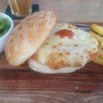 Parma burger