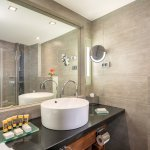 Marble bathroom - includes a separate shower and/or bathtub and Dead-Sea bath amenities.