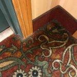 Doorway into room