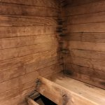 sauna seating