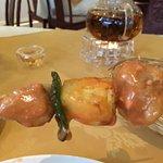 Veggie Chicken Satay Skewers