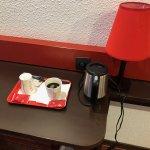 Café et Thé offert à l'arriver dans la chambre