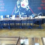 This is a Mural of the late Ms. Pearl Bailey (Singer & Entertainer) at BBP!