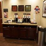 Coffee and Tea Kiosk