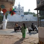 Our Lady of Immaculate Conception Church Panjim Goa - can't miss it!