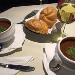 Goulash soup; schnitzel y tarta sacher 👌👌