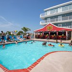 Tidelands Caribbean Hotel & Suites-2nd floor pool with bar & grill