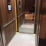 Hotel Elysee Val D Europe - tiny little elevator