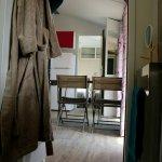 Vue de la salle de bain d'un joli cottage de 3 chambres pour 7 personnes.