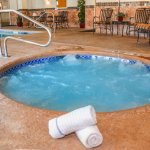 Once you return from a day's outing, enjoy our fitness center, indoor heated pool, 8 person spa.