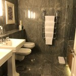 Brand new marble bathroom