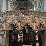 jubé de l'église de la Madeline Troyes