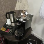 Coffee and tea amenities