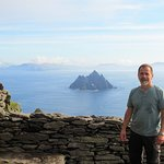 Skellig Michael with view of Little Skellig in the background