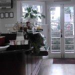 The dining area/tea room area