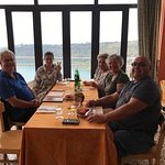 Sep' 2017: Family enjoying food, view, and great company at La Sirena Del Lago