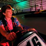 Indoor Electric Go-Karting!  Single & Double Karts available!