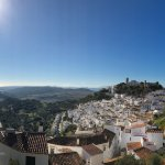 Just down the hill from Casares