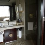 ensuite, there was a toilet/sink bathroom as well