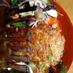 Rack of Lamb, rosti potato and veg