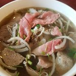 Raining Day out for hot bowl of Pho