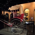 The oldest style rickshaw of the early century..xx
