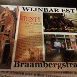 Wijnbar Est Foto