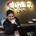 Halla our wonderful Receptionist