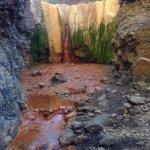 Photo de Cascada de los Colores, Barranco de las Angustias