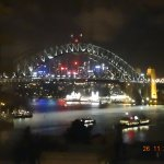 Night time view of Harbour Bridge