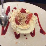 Raspberry merangue