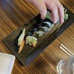 shrimp tempura roll.good flavors and texture