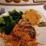Grilled Ahi Tuna. My favorite entree!