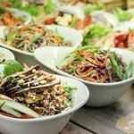 Salads at Cafe Vic