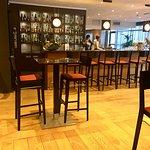 The bar...