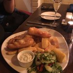 Ashe's Fish and hand Cut Chips