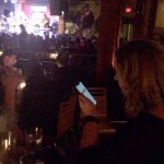 Rude patrons would not mobile devices away after announcement and talked throughout show.
