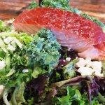 Smoked Salmon Salad at The Buff - Boulder, CO (18/Nov/17).
