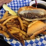 French Dip with French Fries